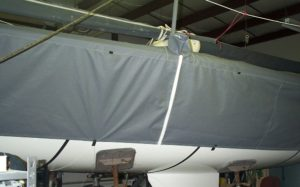 J24 Cover - Port side view