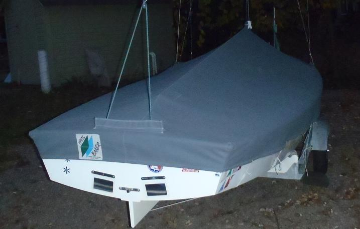 stern view drysail ccover